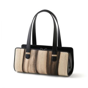 Casual bag / Black persimmon / black / Width 30 × Height 13.5 × Gusset 14 cm (Total height approx. 35 cm) / ¥41,800 (including tax) / Design can be made-to-order