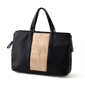 Business bag / ash / Width 39 × Height 29 × Gusset 11 cm (Total height approx. 44 cm) / ¥71,500 (including tax)