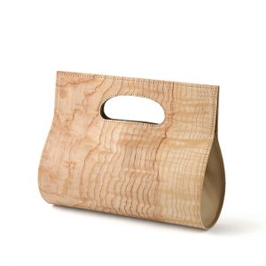 loopbaan clutch bag / figured ash / Width 25 × Height 20 × Gusset 10 cm / ¥30,800 (including tax)