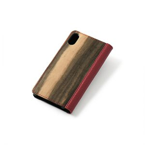 Smartphone case / Black persimmon / Can be made for various model specifications / ¥11,000 (including tax)