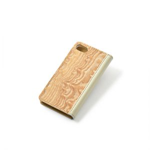 Smartphone case / figured ash / Can be made for various model specifications / ¥11,000 (including tax)