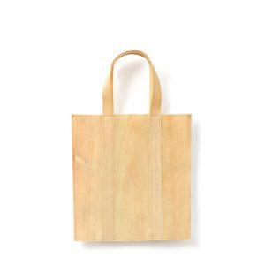 Mori bag (medium) / Japanese cypress / Upper width 27 × Lower width 24 × Height 28cm(Total height approx. 42.5cm) / ¥3,850 (including tax)