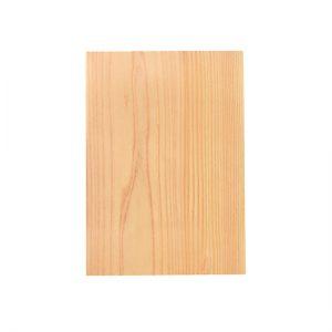Machine-sewable wood A4 size / Japanese cedar / 21 × 29.6cm / ¥1,100 (including tax)